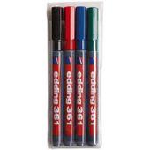 Edding 361 Marqueur pour tableau Pointe ogive fine Noir Lot de 10 Import Royaume Uni
