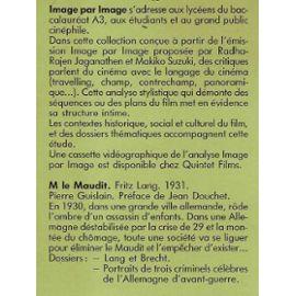 M Le Maudit Fritz Lang Autres Rakuten