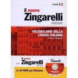 Il Nuovo Zingarelli Minore Con Cd-Rom - Zanichelli