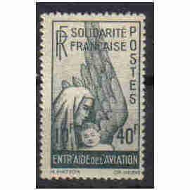 1943 - Colonies françaises -Timbre Solidarité française Entraide de l