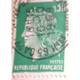 Type Marianne De Cheffer 1969 30c
