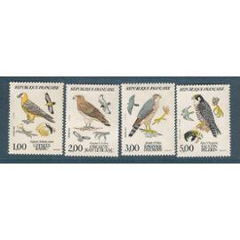 france année 1984 N° 2337 A 2340 NEUFS** faune et flore de france oiseaux