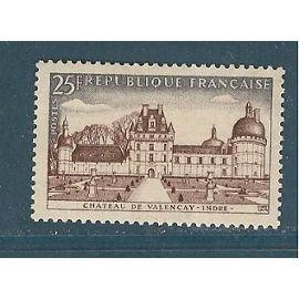 france année 1957 N° 1128 NEUF chateau de valençay