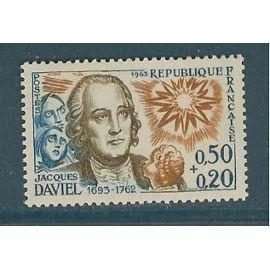 FRANCE ANNée 1963 N° 1374 NEUF**JACQUES DAVIEL