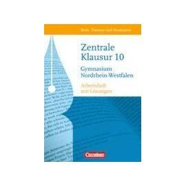 Texte, Themen und Strukturen 10. Schuljahr. Arbeitsheft Zentrale Klausur Nordrhein-Westfalen - Bianca Weber