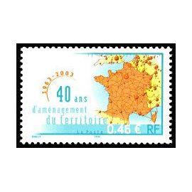 Timbre de France 2003. 40 ans d