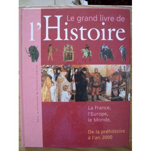 Couverture de Le grand livre de l'Histoire