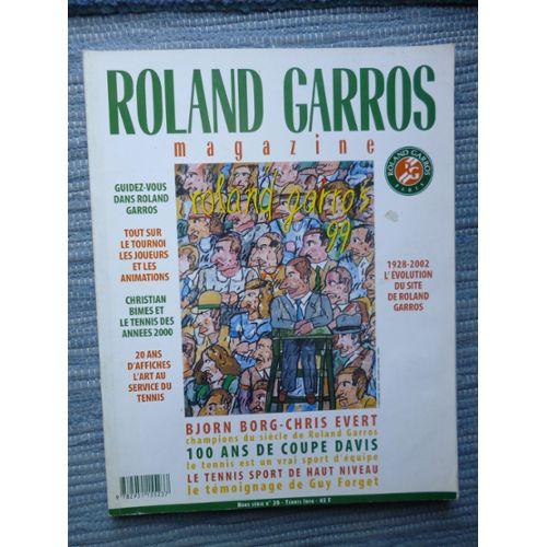 ROLAND GARROS MAGAZINE Hors-série N° 20 : ROLAND GARROS 99 | Rakuten