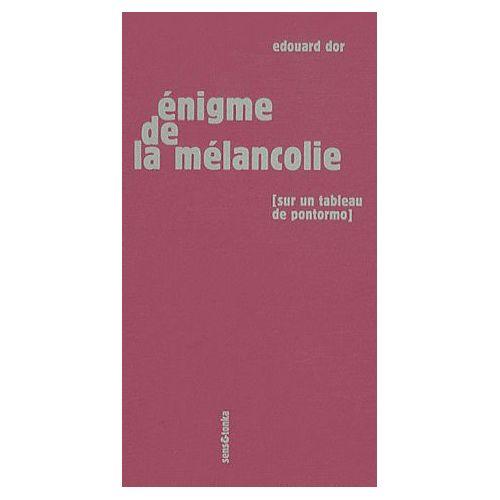 Enigme De La Melancolie Sur Un Tableau De Pontormo Rakuten