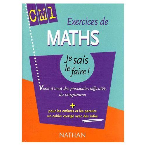 Exercices De Maths Cm1 Soutien Scolaire Parascolaire Rakuten
