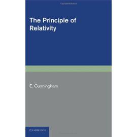 The Principle of Relativity - E. Cunnigham