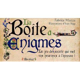 La Boîte À Enigmes - Fabrice Mazza