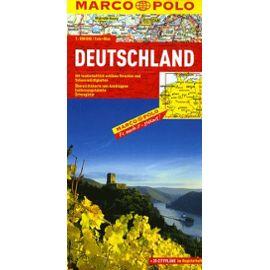 Marco Polo Länderkarte Deutschland 1 : 800 000