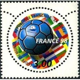 YVert Tellier FR 1998 N°3139 - Coupe du monde de football