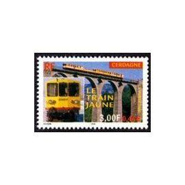 YVert Tellier FR 2000 N°3338 - Le train jaune de Cerdagne