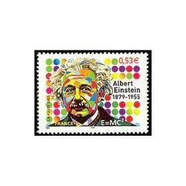 YVert Tellier FR 2005 N°3779 - Albert Einstein