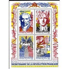 YVert Tellier FR 1990 - N°BC2667 a 2670 - Bicentenaire de la revolution