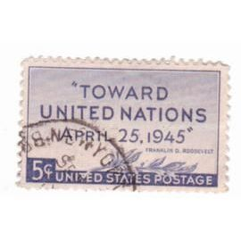 YVert Tellier USA 1945 N°479 - Conference des Nations Unies