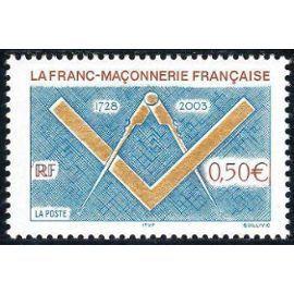 YVert Tellier FR 2003 N°3581 - Franc maconnerie