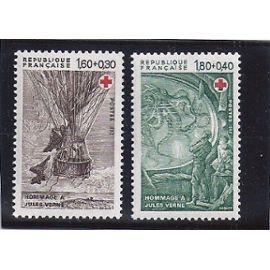 1982 croix rouge série n° 2247 2248