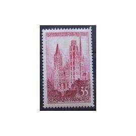 YVert Tellier FR 1957 N°1129 - Cathedrale de Rouen