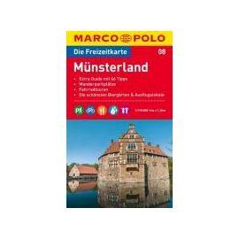 MARCO POLO Freizeitkarte 08 Münsterland 1 : 1100 00