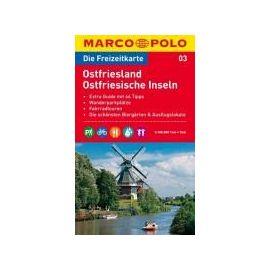 MARCO POLO Freizeitkarte 3 Ostfriesland/Ostfriesische Inseln