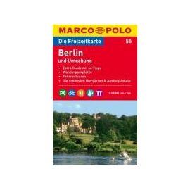 MARCO POLO Freizeitkarte 55 Berlin und Umgebung