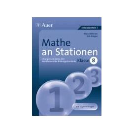Mathe an Stationen 8 - Marco Bettner