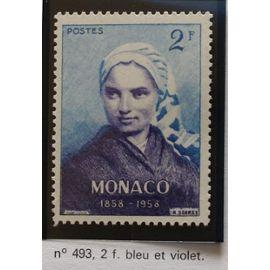 timbre monaco neuf n 493 2f