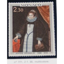 timbre monaco neuf n 771 2f30