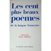 Les Plus Beaux Poemes De La Langue Francaise Pas Cher Ou D