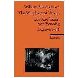 Der Kaufmann von Venedig / The Merchant of Venice - William Shakespeare