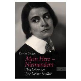 Decker, K: Mein Herz - Niemandem - Kerstin Decker