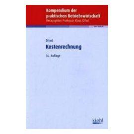 Kostenrechnung - Klaus Olfert