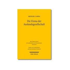 Die Firma der Auslandsgesellschaft - Michael Lamsa