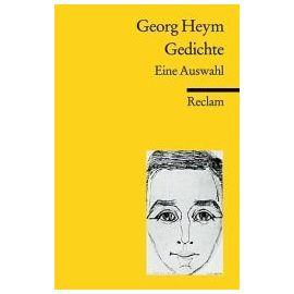 Gedichte - Eine Auswahl - Heym Georg