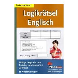 Logikrätsel Englisch Pfiffige Logicals zum Training des logischen Denkens