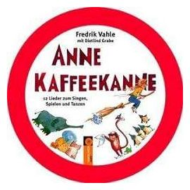 Anne Kaffeekanne. CD in Metallbox - Fredrik Vahle
