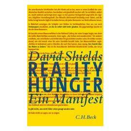 Reality Hunger - David Shields