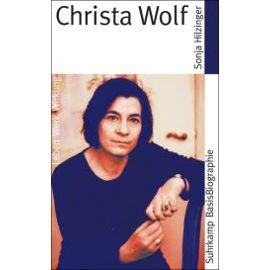 Hilzinger, S: Christa Wolf - Sonja Hilzinger