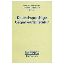 Deutschsprachige Gegenwartsliteratur - Hans-Jörg Knobloch