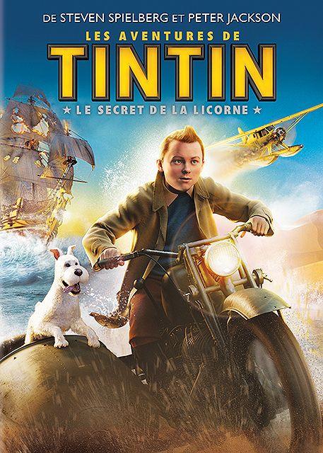 DVD Les aventures de TINTIN : Le secret de la licorne en vente sur la boutique Rakuten de Michael Lefèvre