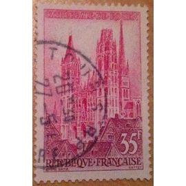 timbres de 1957 en très bon état n°1129.