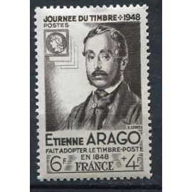 FRANCE N° 794 ETIENNE ARAGO, JOURNEE DU TIMBRE, neuf sans charnière