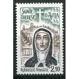 FRANCE ANNée 1982 N° 2249 NEUF** 4ème anniversaire de la mort de sainte thérèse d