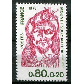 FRANCE ANNée 1976 N° 1882 NEUF** Personnages célèbres mounet-sully