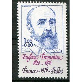 FRANCE année 1976 N° 1897 NEUF personnages célèbres eugène fromentin