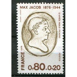 FRANCE année 1976 N° 1881 NEUF** personnages célèbres max jacob