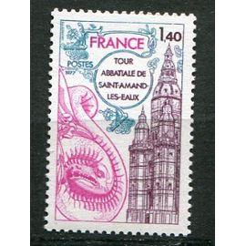 FRANCE année 1977 N° 1948  NEUF** Série touristique abbaye des piemontrés à pont-à-mousson